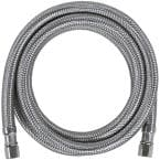 4 ft. Braided Stainless Steel Ice Maker Connector