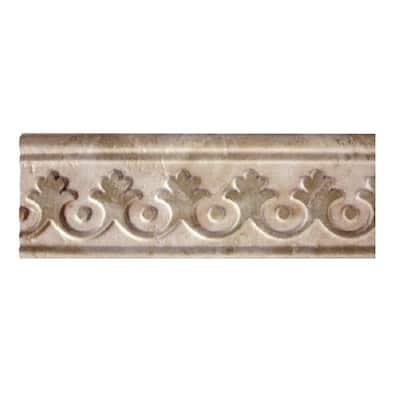 Augustus Smoke 3.5 in. x 10 in. Ceramic Wall Tile (2.61 sq. ft. / case)