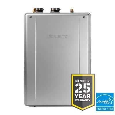 EZ111 EZ Series 11.1 GPM Residential Natural Gas High Efficiency Indoor/Outdoor Tankless Water Heater 25-Year Warranty