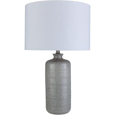 Raylee 25.75 in. Medium Gray Indoor Table Lamp
