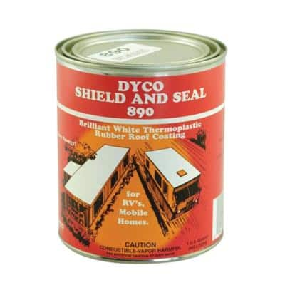 890 SHIELD and SEAL White - Qt.