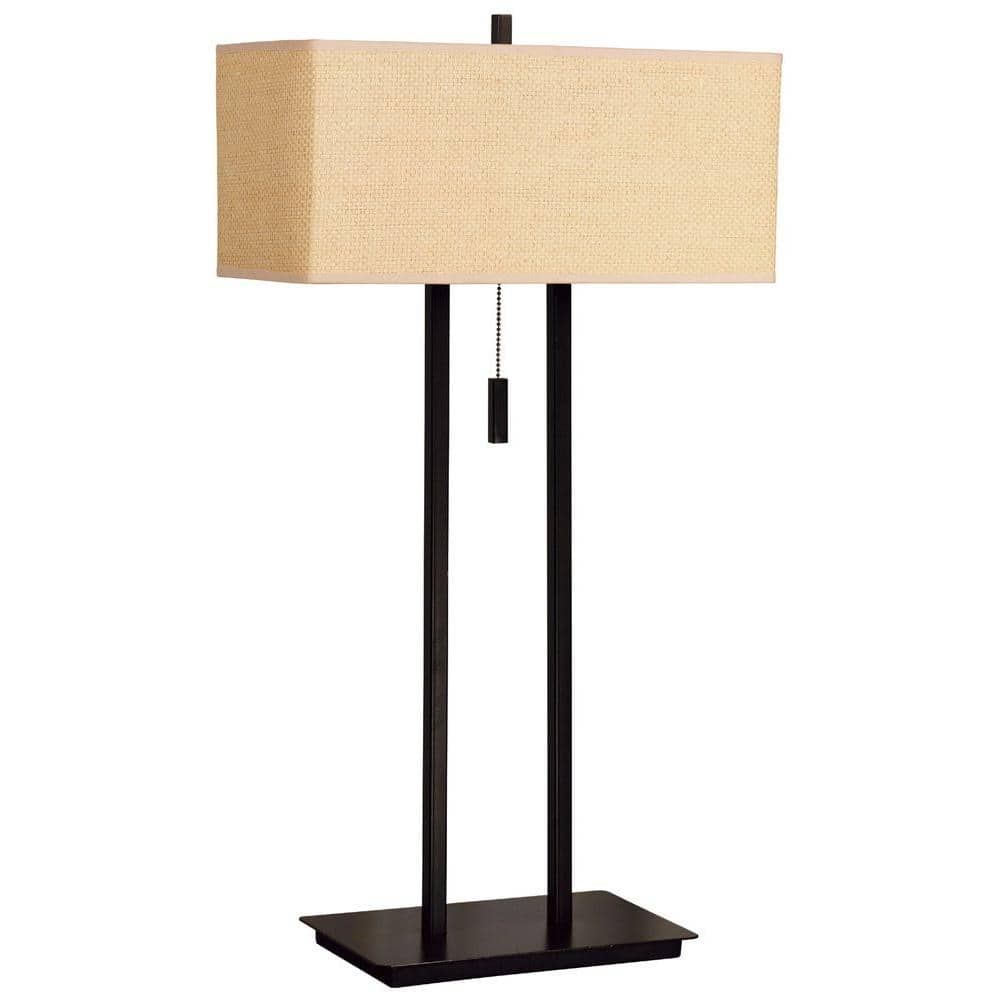 Kenroy Home Emilio 29 In Bronze Table Lamp 30816brz The Home Depot
