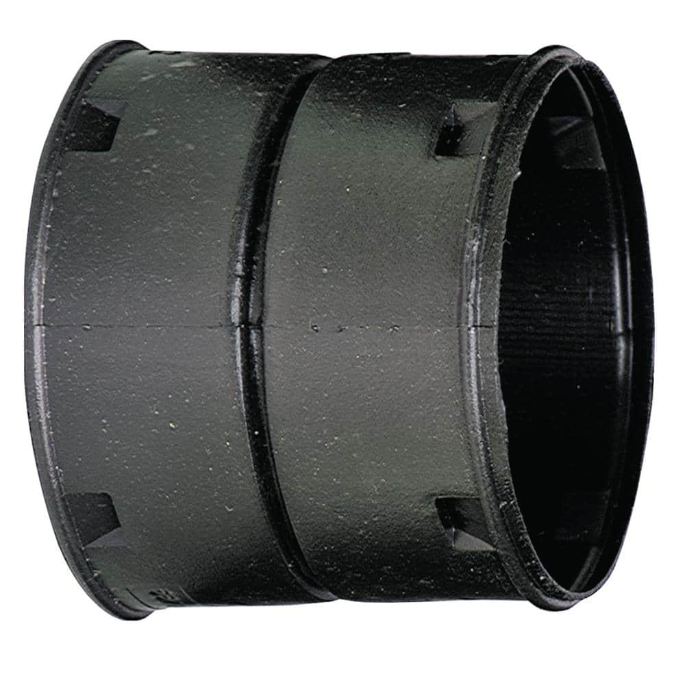 Advanced Drainage Systems 6 In Hdpe Slip External Snap Coupler 0612aa The Home Depot