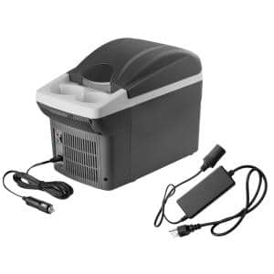 12-Volt 6 Qt. Personal Fridge/Warmer with 5-Amp AC to 12-Volt DC Power Adapter