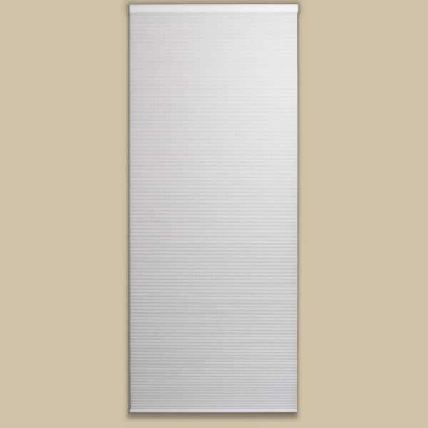 Perfect Lift Window Treatment Cut To Width White Cordless Light Filtering Cellular Shade 29 In W X 64 In L Qcwt290640 The Home Depot