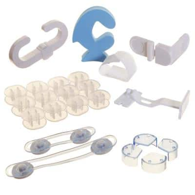 No Tools No Screws Required Home Safety Kit (35-Piece)