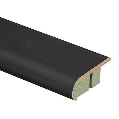Pure Black Oak 3/4 in. T x 2-1/8 in. W x 94 in. L Laminate Stair Nose Molding