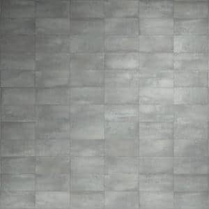 Forge Smoke 24 in. x 12 in. Matte Porcelain Floor and Wall Tile (7 Pieces, 13.56 Sq. Ft. /Case)