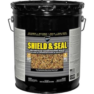 SHIELD & SEAL 5 gal. 1380 Clear Polyurethane Waterproofing Sealer
