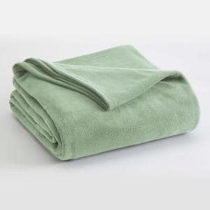 Microfleece Desert Sage Polyester Full/Queen Blanket