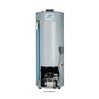30 Gal. Tall Residential Oil-Fired Center Flue Tank Water Heater Only (Burner Sold Separately)