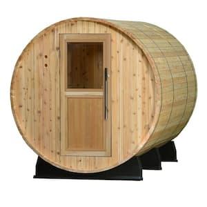 Princeton Cedar 6 Person Electric Barrel Sauna