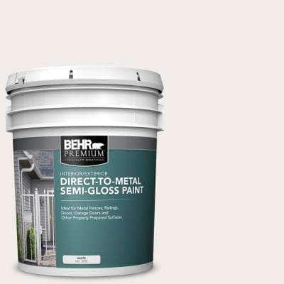 5 gal. #52 White Semi-Gloss Direct to Metal Interior/Exterior Paint