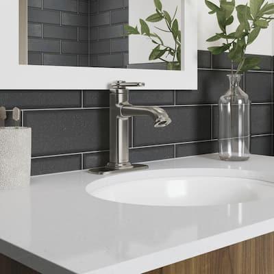 Numista Single-Handle Single Hole Bathroom Faucet in Vibrant Brushed Nickel