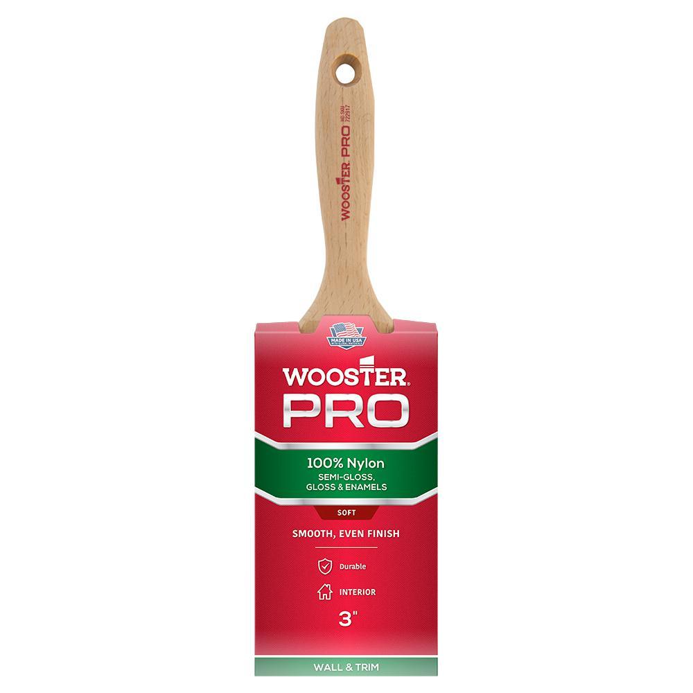 3 in. Pro Nylon Flat Brush