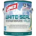 1 Gal. White-Seal Plus 100% Acrylic Elastomeric Reflective Roof Coating with High UV-Ray Reflectance