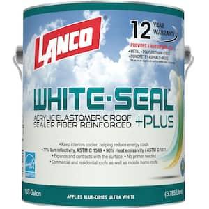 1 Gal. White-Seal Plus 100% Acrylic Elastomeric Reflective Roof Coating with High UV-Ray Reflectance
