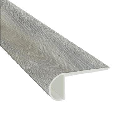 Winding Brook 3/4 in. T x 2-3/4 in. W x 94 in. L Luxury Vinyl Flush Stair Nose Molding