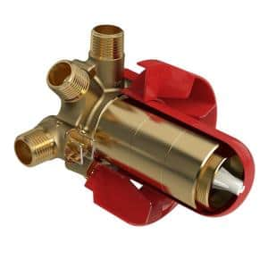 3-Way Type (Thermostatic/Pressure Balance) Coaxial Valve