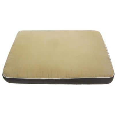 3.5 in. Thick Medium Custom-Fit Bed Cushion for Ecoflex InnPlace Crates