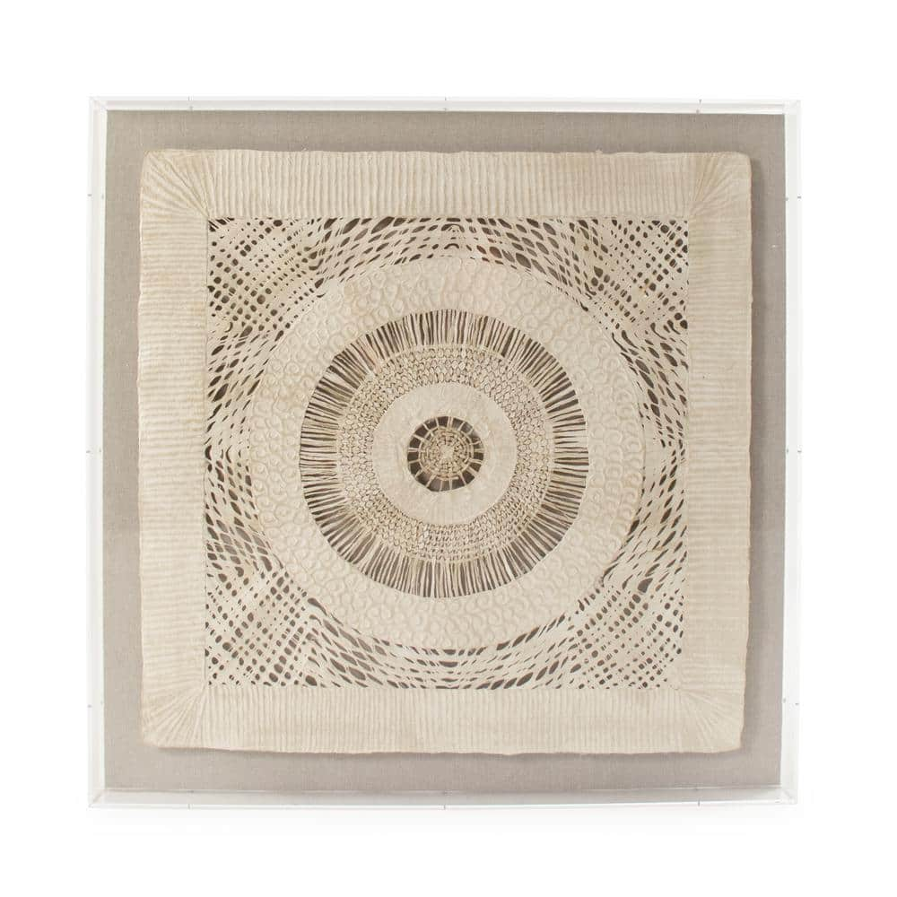 Zentique Abstract Geometrical Paper In Acrylic Wall Art By Zentique Zen38524c The Home Depot