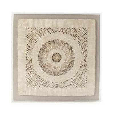 Abstract Geometrical Paper in Acrylic Wall Art