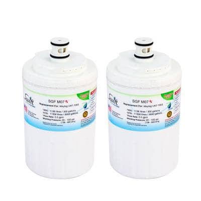 Replacement Water Filter for Maytag UKF-7003 (2-Pack)