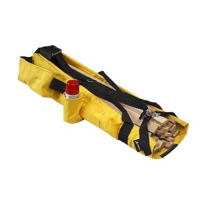8 in. Reinforced Base Lath Shoulder Bag