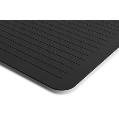 Anti-Fatigue Black 20 in. x 39 in. Comfort Mat