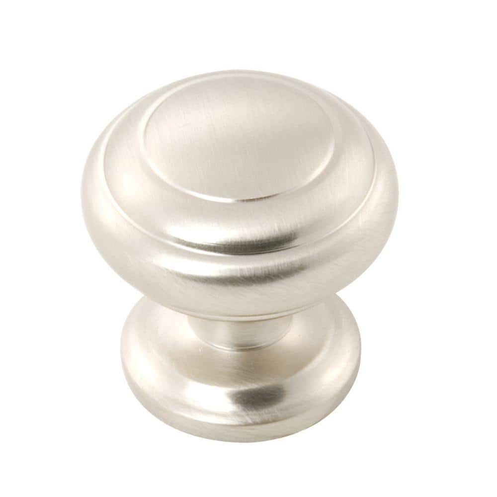 Zephyr DrawerCabinet Knobs Pull Knobs Satin Nickel and Oil-Bronze Highlighted Knobs Belwith Products