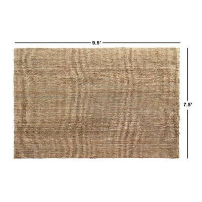 """Urban Tucked Natural 7'6"""" x 9'6"""" Handloom Woven Area Rug"""