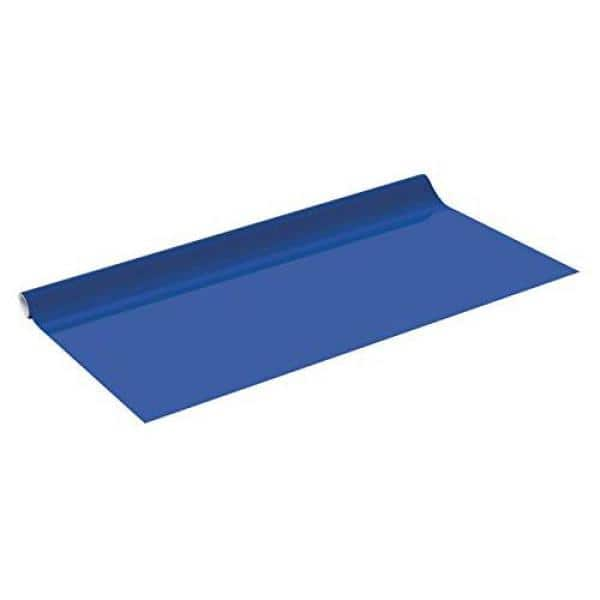 Venilia 54355 Self-Adhesive Film Plain Matt Spruce Blue Decorative Furniture Film PVC Phthalate Free Blue 160 /µm Thickness 0.16 mm