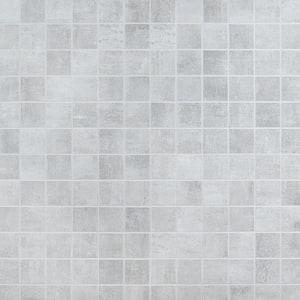 Marken Gray 11.87 in. x 11.87 in. Matte Porcelain Mosaic Tile (0.97 sq. ft.)