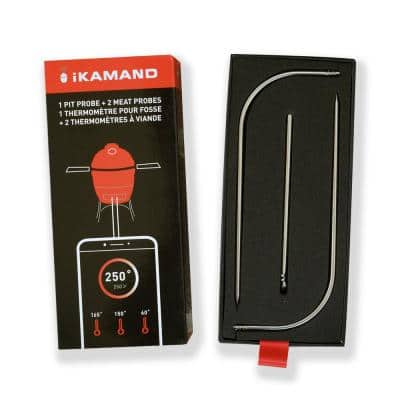 Ikamand Meat 2 and Pit 1 Probe Kit