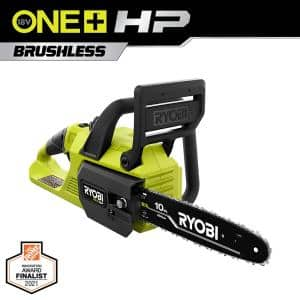 ONE+ HP 18V Brushless 10 in. Cordless Battery Chainsaw (Tool Only)