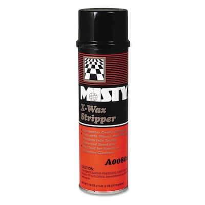 X-Wax Floor Stripper, Non-Carpet Cleaner, 18 oz. Aerosol, 12/Carton