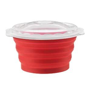 Pop and Serve 2.5 qt. Silicon Microwave Popcorn maker
