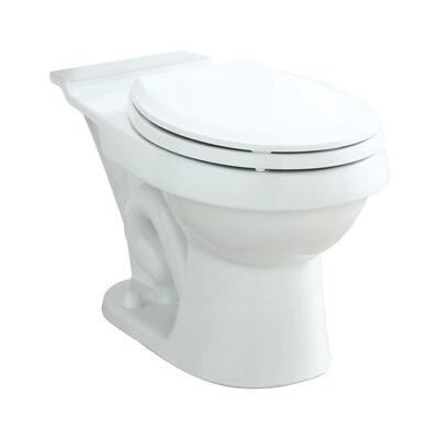 Rockton/Karsten Round Toilet Bowl Only in White