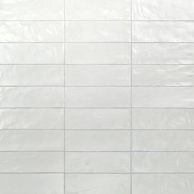 Amagansett Blue 2 in. x 8 in. 9 mm Satin Ceramic Wall Tile (5.38 sq. ft. / case)