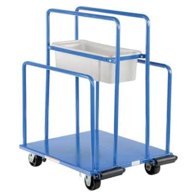 32 in. x 26 in. 2000 lbs. Steel Panel Cart with Capacity