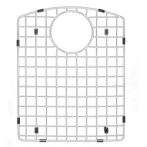 13-3/8 in. x 16-1/2 in. Stainless Steel Bottom Grid Fits QT-610 / QU-610 Large