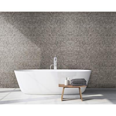 12 X White Diamond//Carbon Grey Small Wall Cladding Bathroom Ceiling Panels PVC