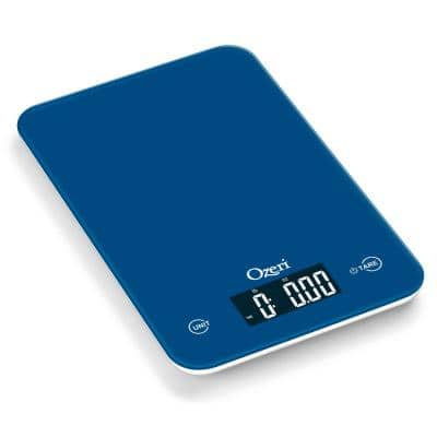 Touch Professional Digital Kitchen Scale (12 lbs. Edition) in Tempered Glass