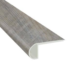 Hickory Lake 3/4 in. Thick x 2 3/4 in. Wide x 94 in. Length Luxury Vinyl Flush Stairnose Molding