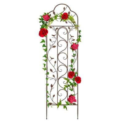 60 in. Iron Arched Trellis