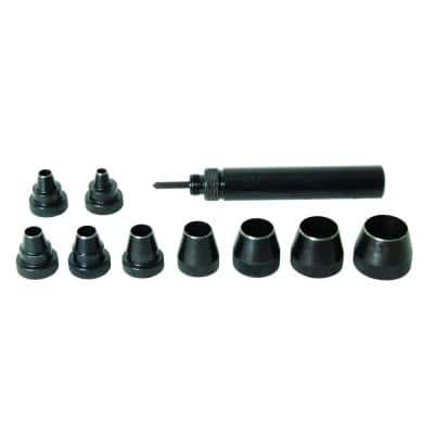 Professional Gasket Punch Set and Case (10-Piece)