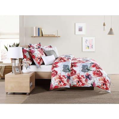 Siena 6-Piece Multicolored Queen Comforter Set