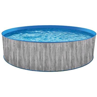 15 ft. Round 48 in. D Capri Steel Wall Pool Package