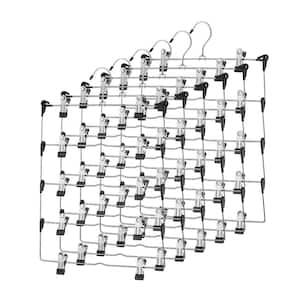Stainless Steel Metal Hangers 6-Pack