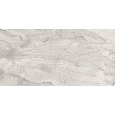 Brickell Gris 12 in. x 24 in. Matte Ceramic Floor Tile (13.56 sq. ft. / carton)